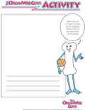 OrganWiseGuys Drawing Activity Sheet