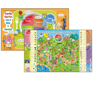 100 reusable MyPlate placemats