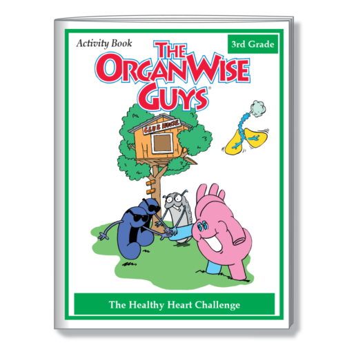 3006 Healthy Heart Challenge Activity BOOK COVER