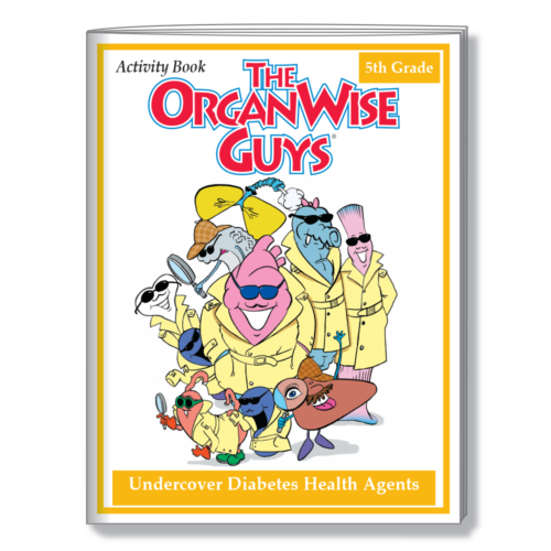 3014 UnderCover Diabetes Agents Activity Book COVER